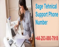 Image for Sage Support Number +44-203-880-7918