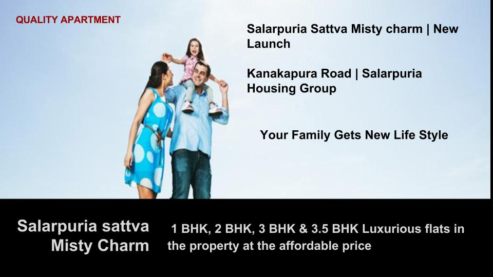 Image for Salarpuria Sattva Misty Charm | New Launch in Bangalore