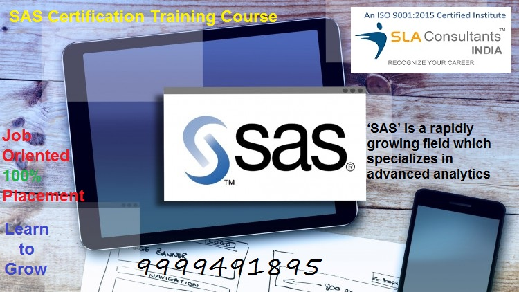 Base SAS Course Provider in Gurgaon :  SLA Consultants Gurgaon