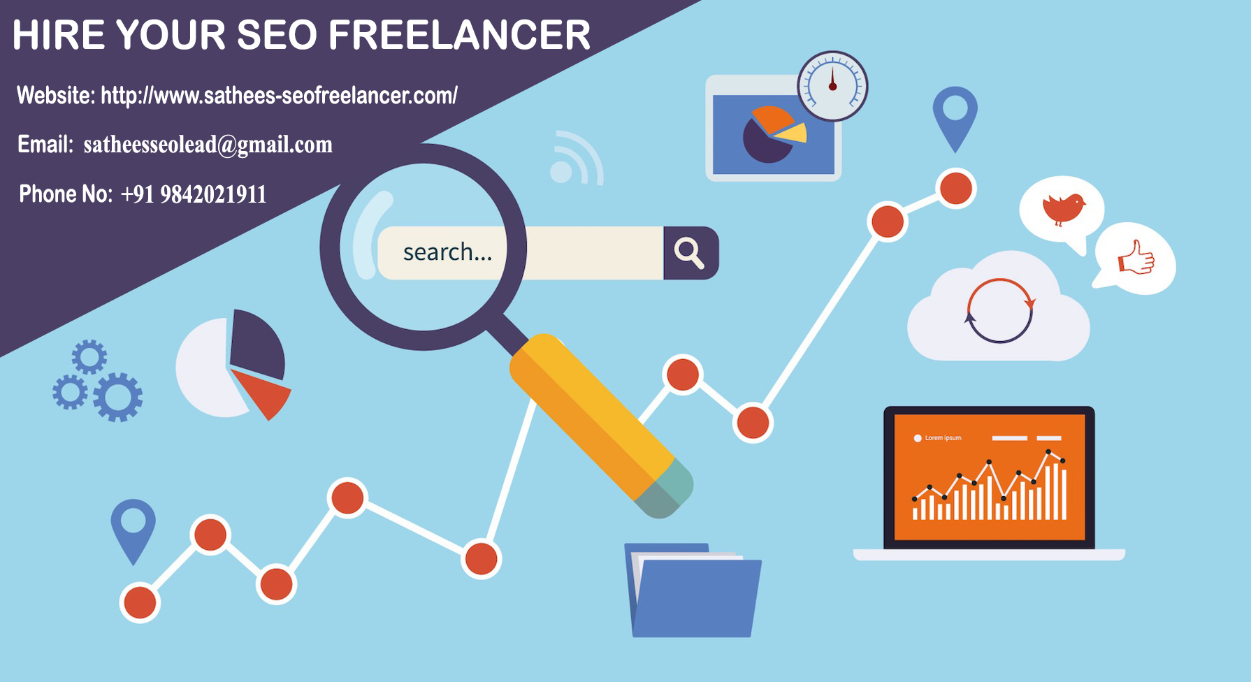 Image for SEO Freelancer Bangalore – Get Top Rankings On Google First page