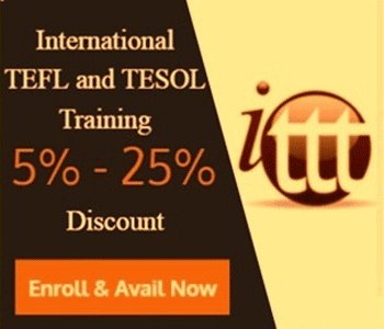 Image for ENROLL NOW AND AVAIL 5%-25% DISCOUNT - International TEFL and TESOL Tr