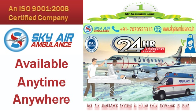 Image for Avail an Emergency Sky Air Ambulance from Bhubaneswar to Delhi