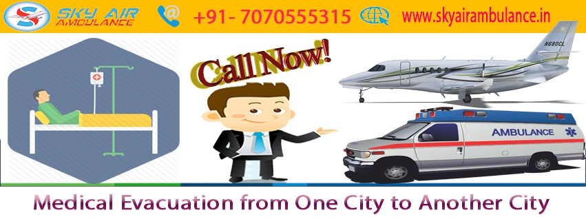 Need Air Ambulance from Mumbai to Delhi – Call Sky Air ambulance Right