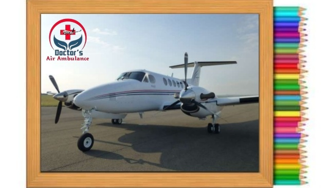 Doctors Air Ambulance Service in Siliguri is Available Now
