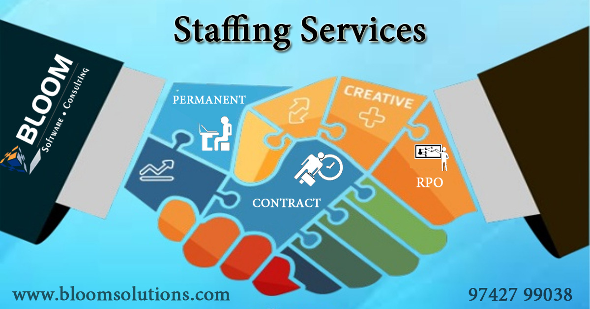 Image for Staffing Agencies Bangalore | Recruitment Services Bangalore - BLOOM