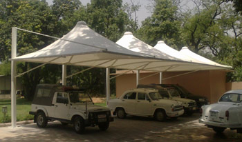 Image for Car Parking Tensile Structure Manufacturer in Indore