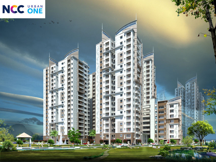 Image for NCC Urban One Residential Apartments Hyderabad | Call 8448538360