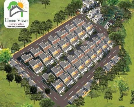 Green Views Villas Near Asianet Studio Puliyarakonam Trivandrum